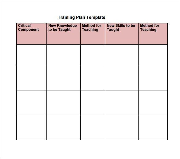 sample training calendar | cvresume.unicloud.pl