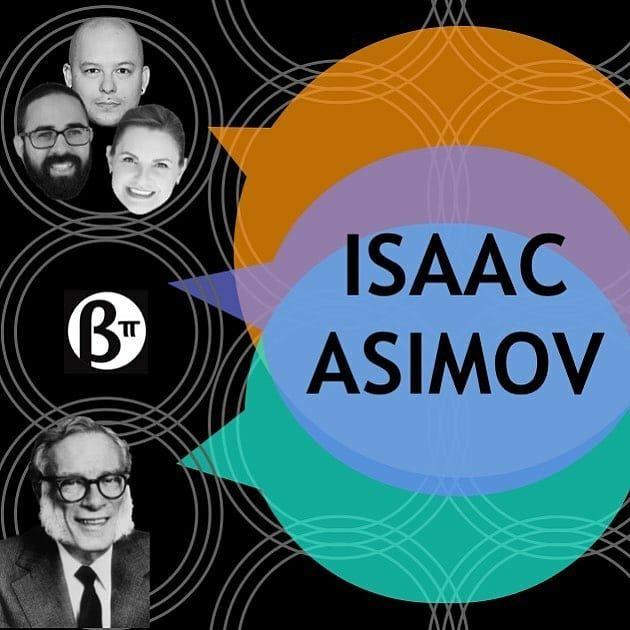 Se vc conhece Isaac Asimov (ou a @ligiafascioni ou os 2) eu nem preciso te convencer a ver esse vídeo pq sei que vc sabe que qquer coisa sobre o Isaac Asimov é interessante (e qquer coisa que a Lígia fala tbem é). Se vc não conhece Isaac Asimov (ou o @berlimtechtalks) vai agora resolver essa falha enorme na sua vida!  Reposted from @berlimtechtalks Hoje é segunda-feira então é dia de #berlimtechtalks ! Se você nunca ouviu falar em Isaac Asimov não pode perder esse episódio. Se é fã também não po