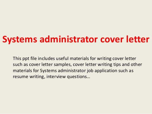 active directory administrator cover letter | node2003-cvresume ...