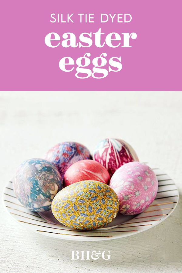 See How Easy It Is to Dye Easter Eggs with Old Silk Ties