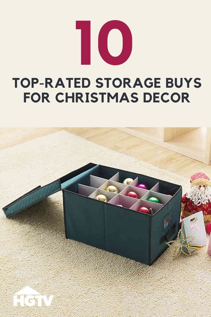 The Best Storage Bags + Boxes for Christmas Decor