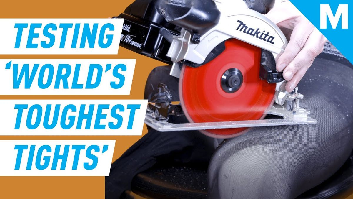 """Can We DESTROY """"The World's TOUGHEST Tights""""?   Mashable"""