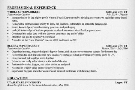 supermarket cashier duties resume cashier resume sample example