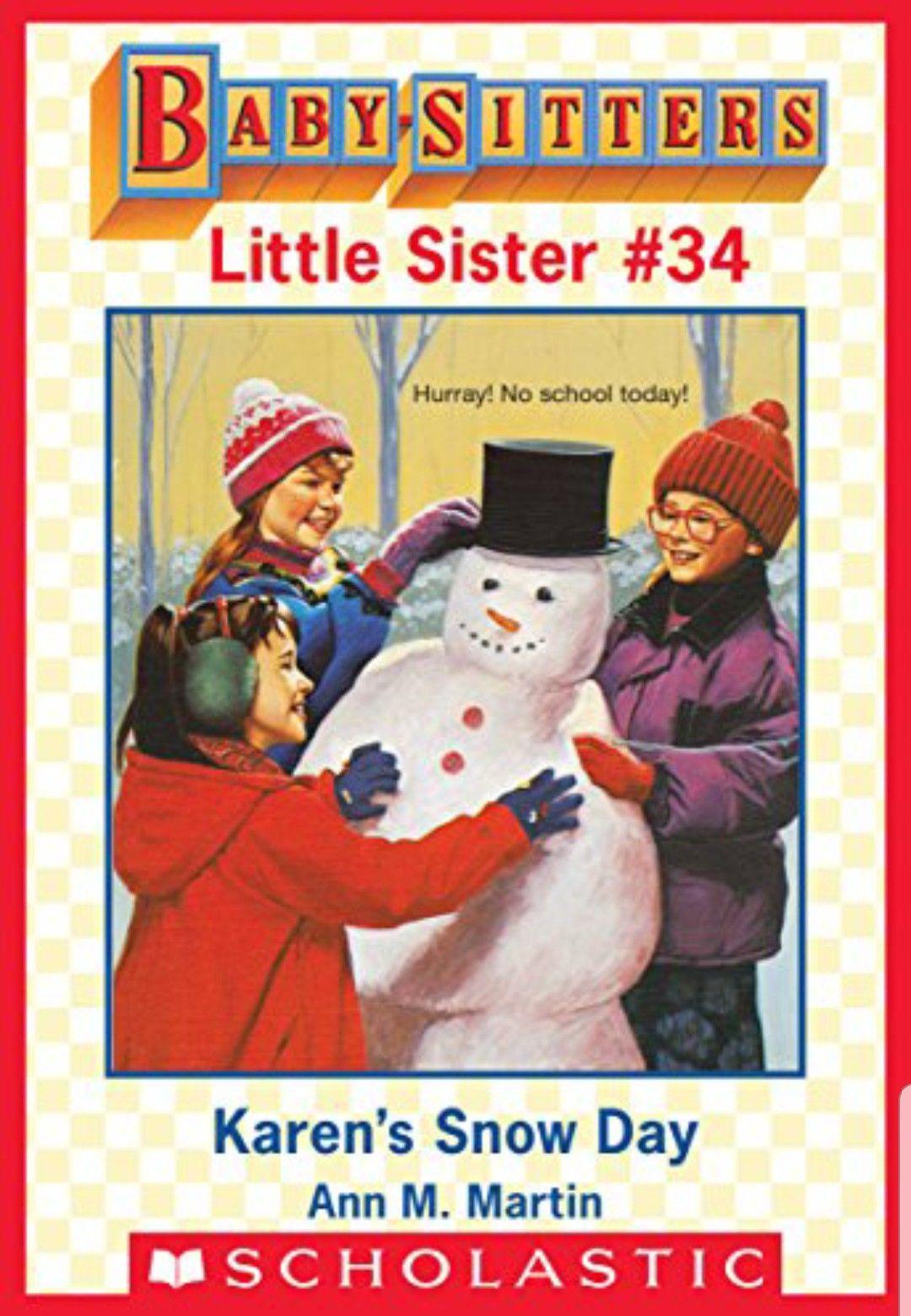 Hannie nancy karen little sisters sitter snow day