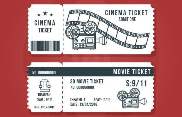 Movie Ticket Template For Word 6 Movie Ticket Templates To Design - create your own movie ticket