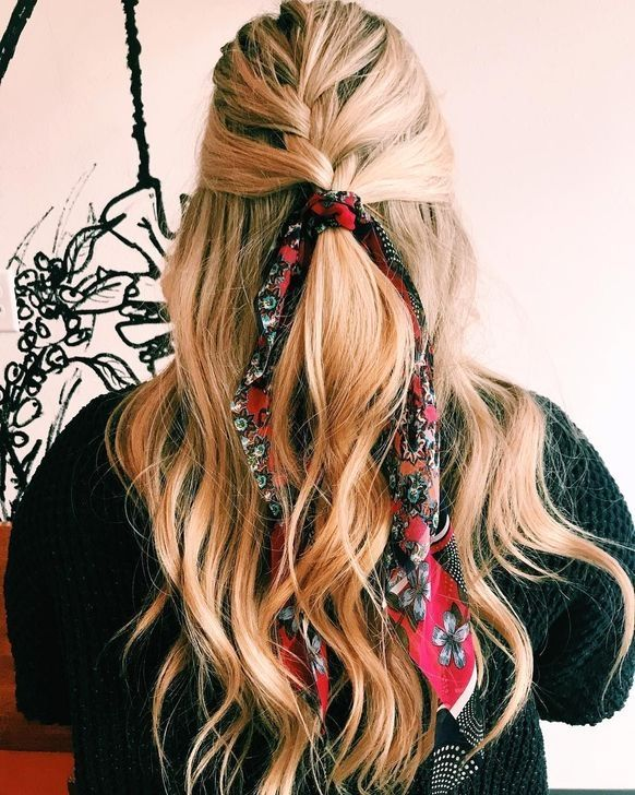 20+ Best Ideas Of How To Wear Hair Scarfs