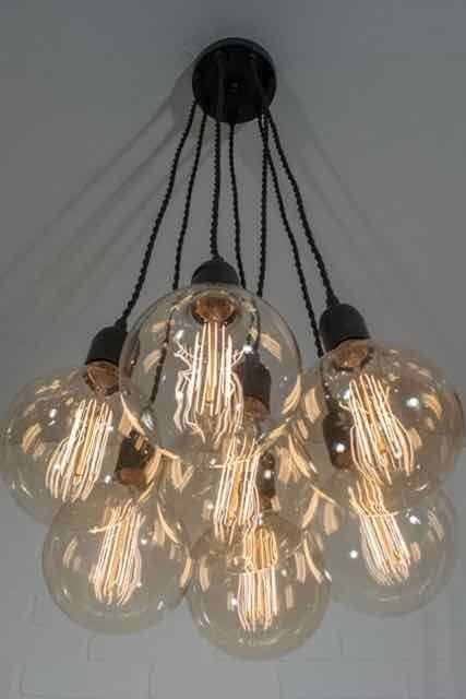 7 Pendant Cluster Light Fixture