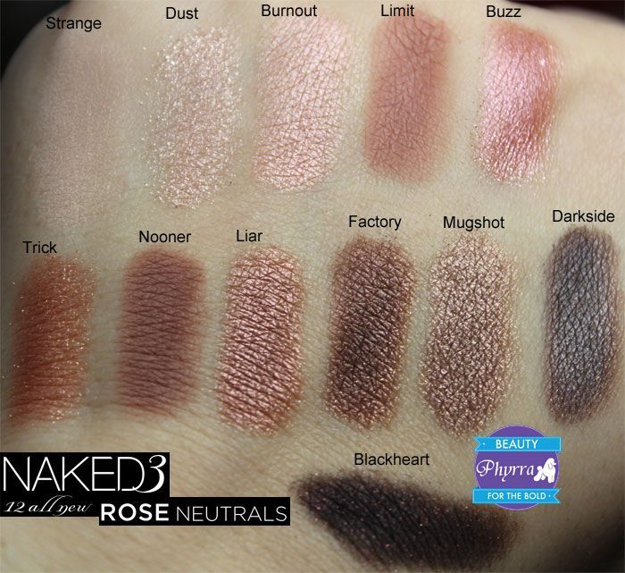Urban Decay Naked 3 Palette Review @Urban Decay #urbandecay #crueltyfree #naked3