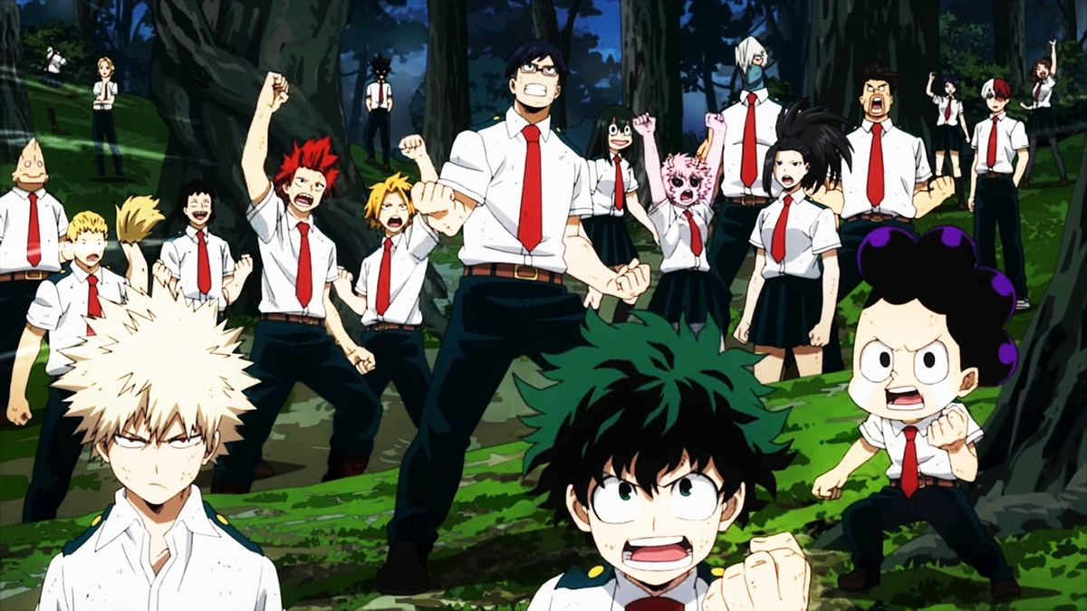 hero Academia season 3 episode 1