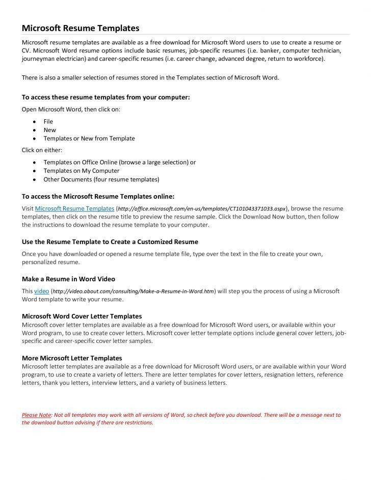microsoft cover letters