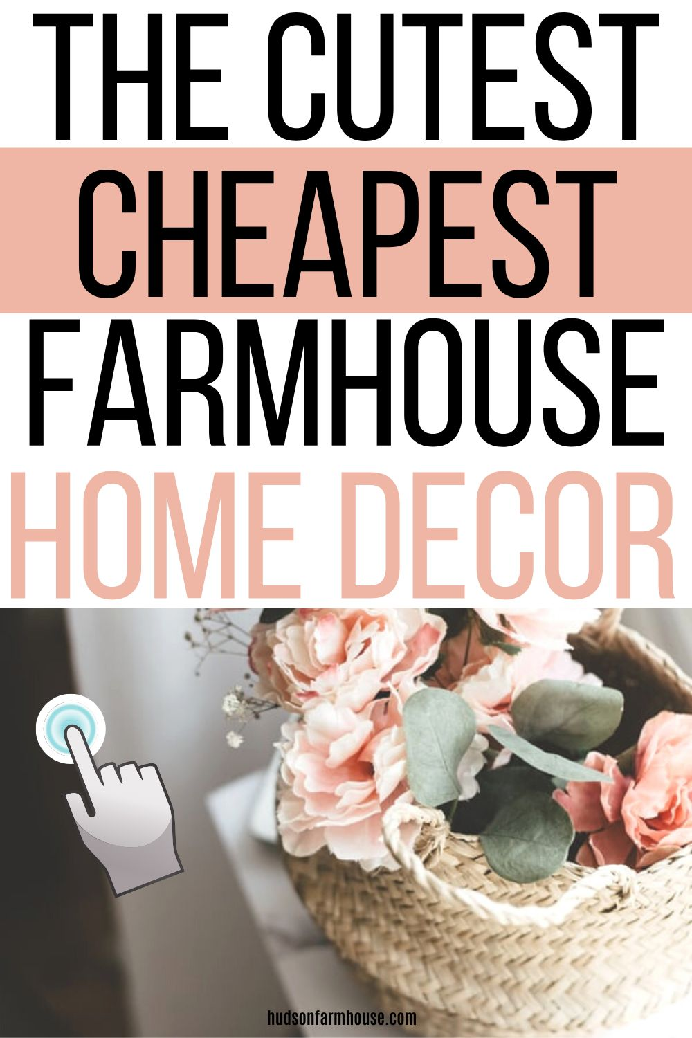Spring Decor that's Budget Friendly