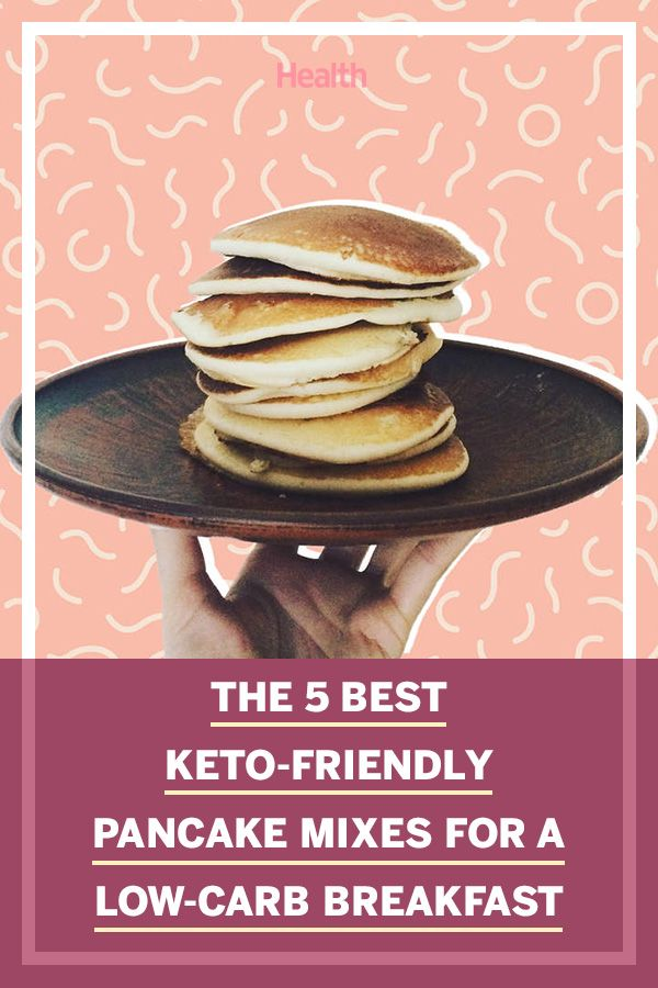 The 5 Best Keto Pancake Mixes, According to Customer Reviews