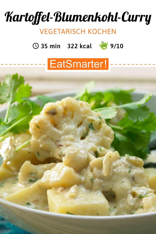 Kartoffel-Blumenkohl-Curry - auf indische Art - smarter - Kalorien: 322 kcal - Zeit: 35 Min. | eatsmarter.de    #abnehmenrezepte #abnehmenabendessen