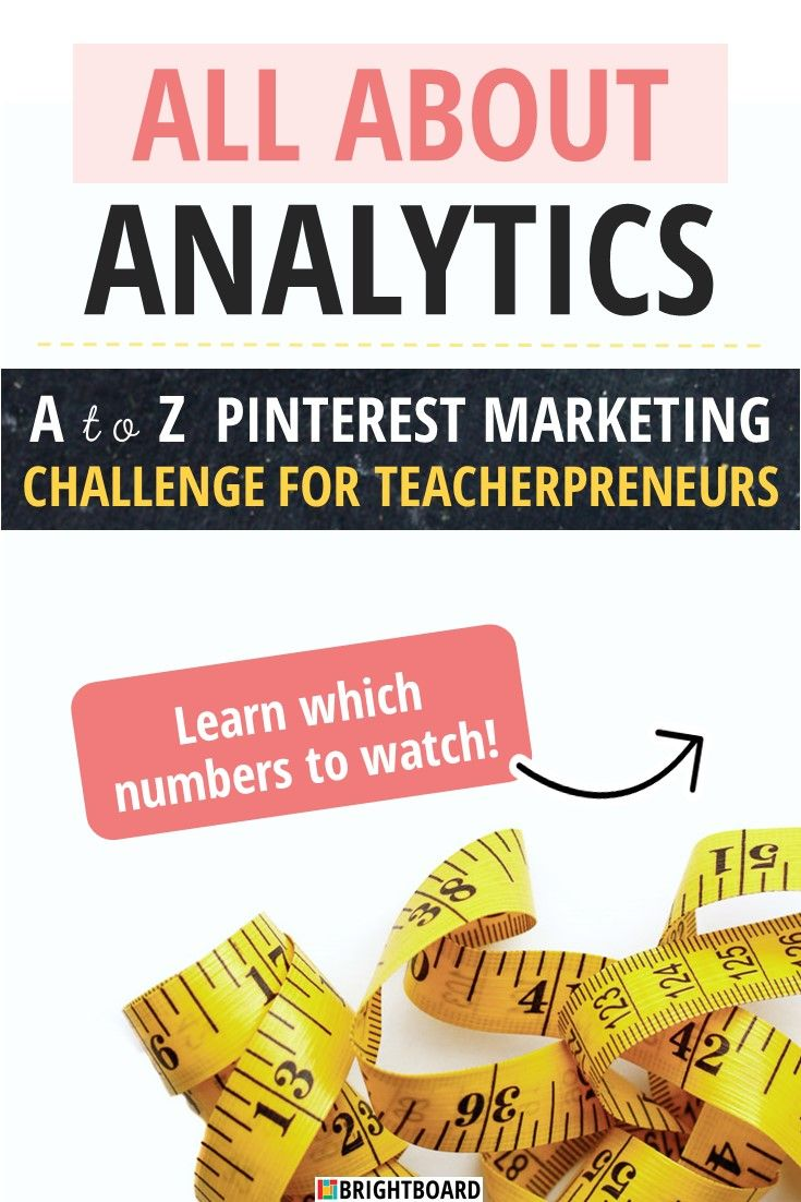 All About Analytics: Time to get nerdy with your Pinterest analytics, so you can pin what your potential customers want to find! #pinterest #pinterestmarketing #teacherpreneur #tptseller