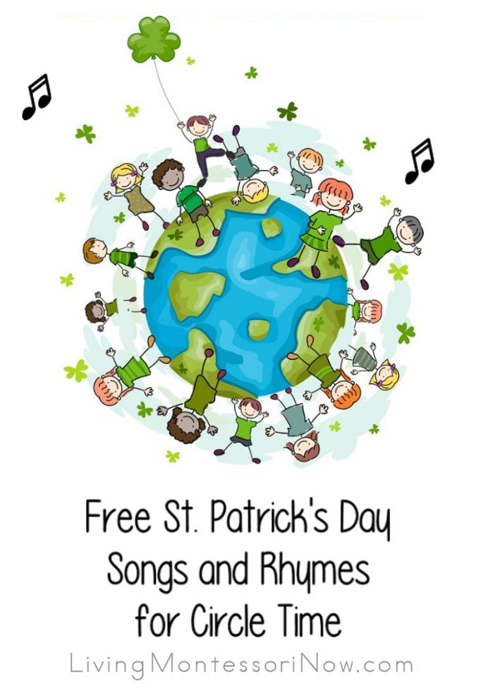 Free St. Patrick's Day Songs and Rhymes for Circle Time