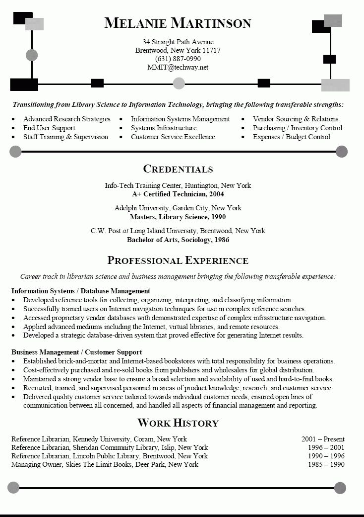 Examples Of Career Change Resumes  Examples Of Resumes