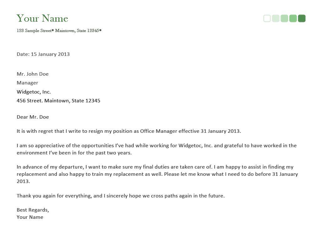 Good Letter Of Resignation Resignation Letter Format Confirm Very - immediate resignation letter