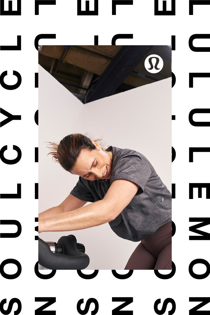 Designed by instructors. Transforms your ride.   lululemon X SoulCycle