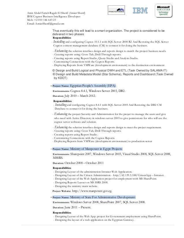 cognos administrator resume | node2002-cvresume.paasprovider.com