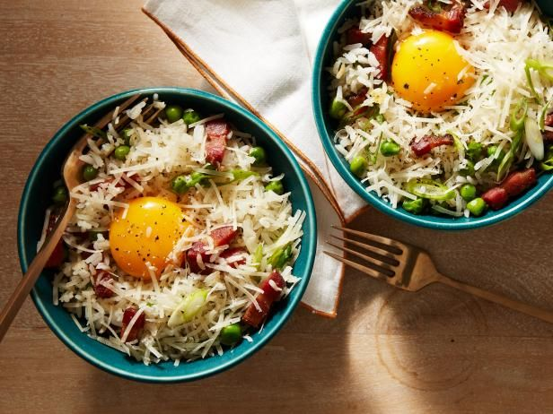 Recipe of the Day: Carbonara Fried Rice | The rich flavor of a carbonara combined with the crispy, crunchy texture of fried rice. Need we say more?
