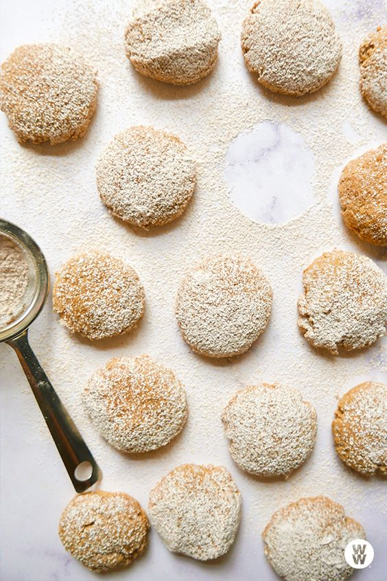 Fresh ginger spice cookies: Along with ground cinnamon and cloves, a good bit of grated fresh ginger spices up these easy cookies, giving them a burst of pungent-peppery flavor. Whole-wheat pastry flour has a finer texture than regular whole-wheat flour, making it ideal for desserts.
