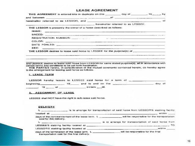 Equipment Lease Form Template 12 Equipment Rental Agreement - lease and rental agreement difference