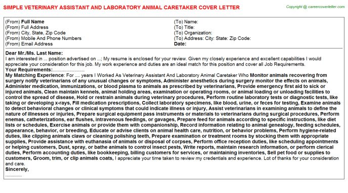 Good Maintenance Caretaker Cover Letter Cvresumeunicloudpl