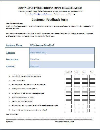 Registration Form Template Microsoft Printable Registration Form   Customer  Complaints Form Template