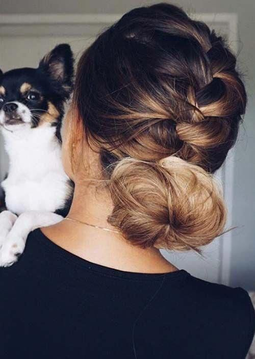"100 Trendy Long Hairstyles for Women: Braided Low Bun <a class=""pintag"" href=""/explore/longhairstyles/"" title=""#longhairstyles explore Pinterest"">#longhairstyles</a><p><a href=""http://www.homeinteriordesign.org/2018/02/short-guide-to-interior-decoration.html"">Short guide to interior decoration</a></p>"