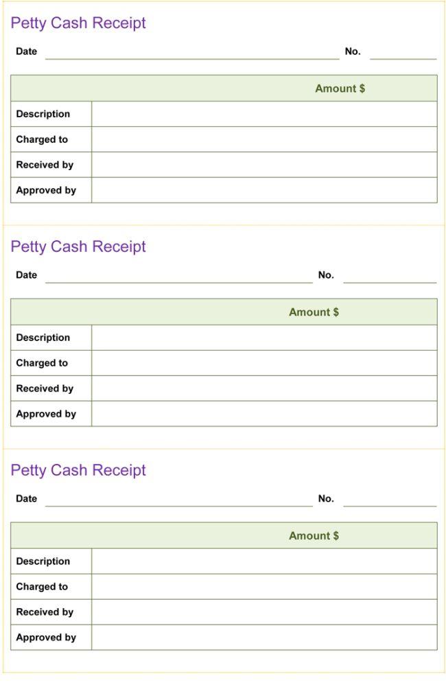 Printable Cash Receipt Cash Receipt Template 8 Free Word Pdf - petty cash receipt template free