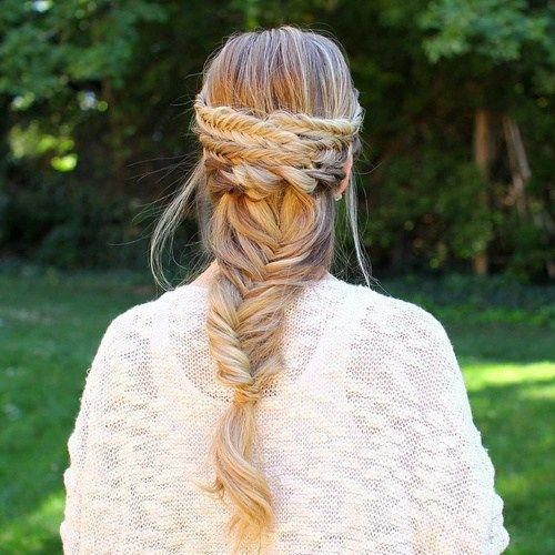 "fishtail braid hairstyle for long hair <a class=""pintag"" href=""/explore/Braidedhairstyles/"" title=""#Braidedhairstyles explore Pinterest"">#Braidedhairstyles</a><p><a href=""http://www.homeinteriordesign.org/2018/02/short-guide-to-interior-decoration.html"">Short guide to interior decoration</a></p>"
