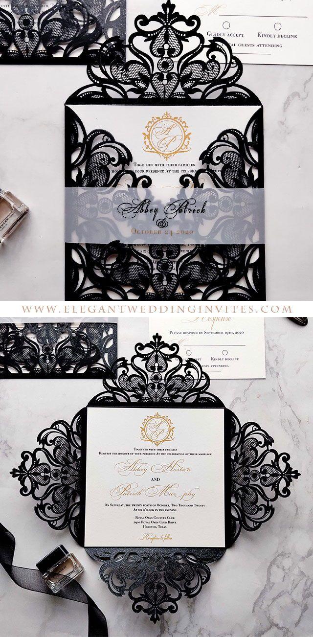 Laser Cut Wedding Invitations EWI