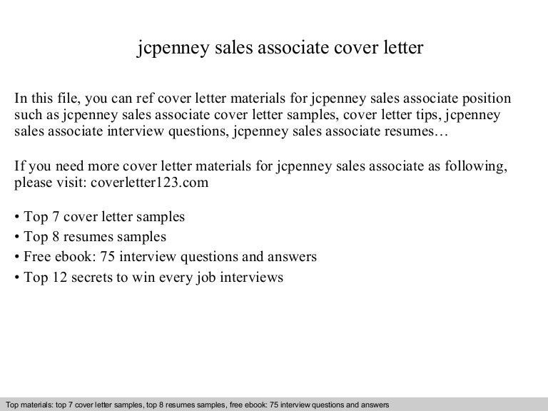 Cover Letter For Sales Associate Position] Retail Sales Assistant