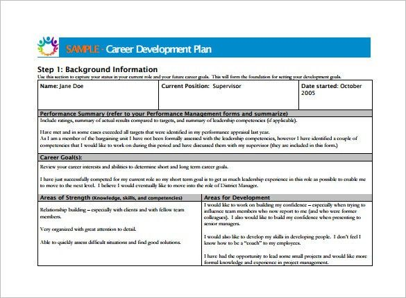 Employee Development Plan Template Employee Development Plan - development plan templates
