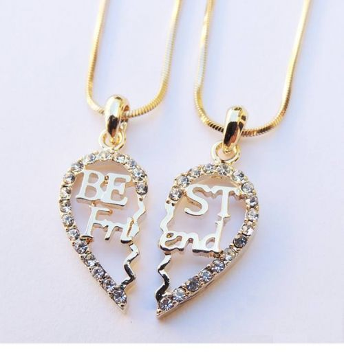 Awesome best friend necklace