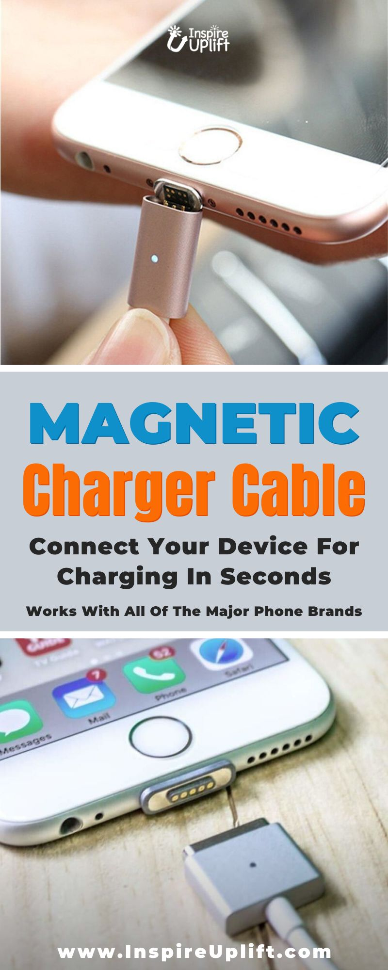 No more fumbling and fiddling around, trying to plug your phone in. With this nifty, little, magnetized gadget you can connect your device for charging in seconds!  It's a well known fact that smartphones play a very vital role in our daily lives and with them comes an almost unlimited number of accessories. Among the most popular of these accessories, are magnetic phone charging cables.