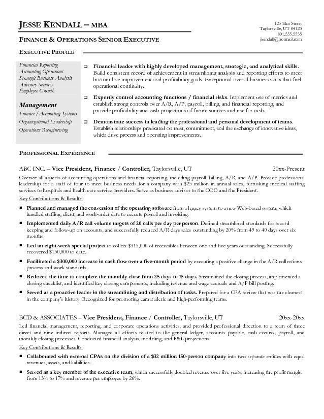 Vice President Of Finance Resume Click Here To Download This Vice - finance resume objective
