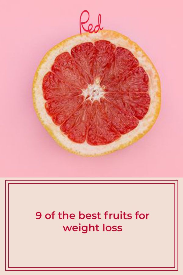 9 of the best fruits for weight loss
