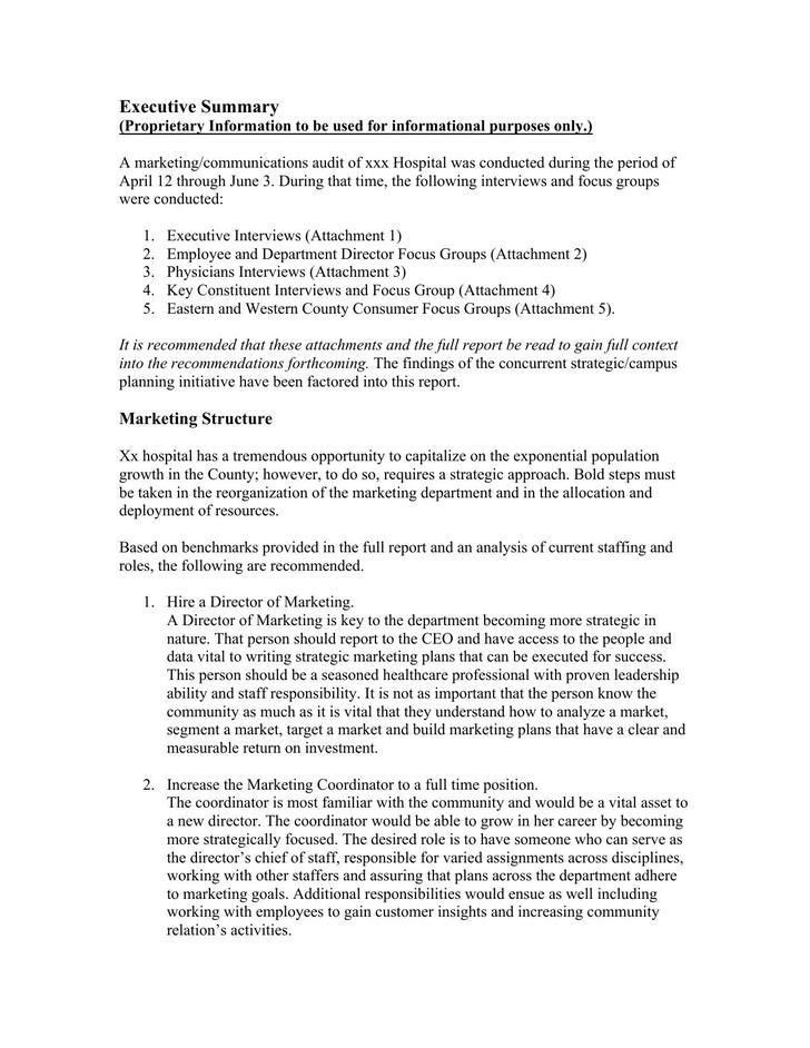 Marketing Reports Examples Sample Marketing Report 7 Documents In - sample marketing cover letter example