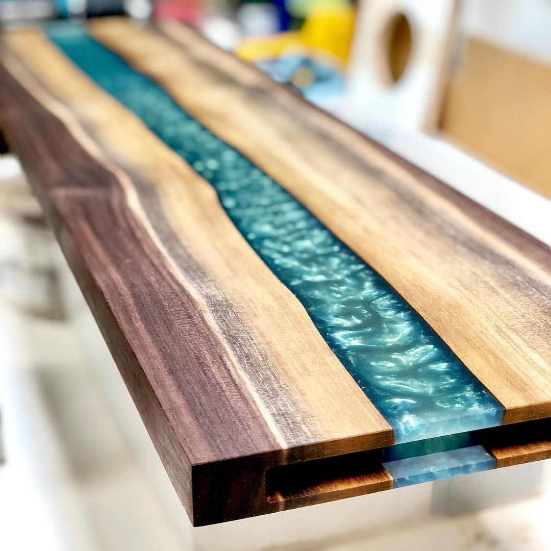 "We're calling this one a ""Salmon Display"". Makes a sweet gift for the chef in the fam. 9""x32"". We'll make you one and ship it for $290."