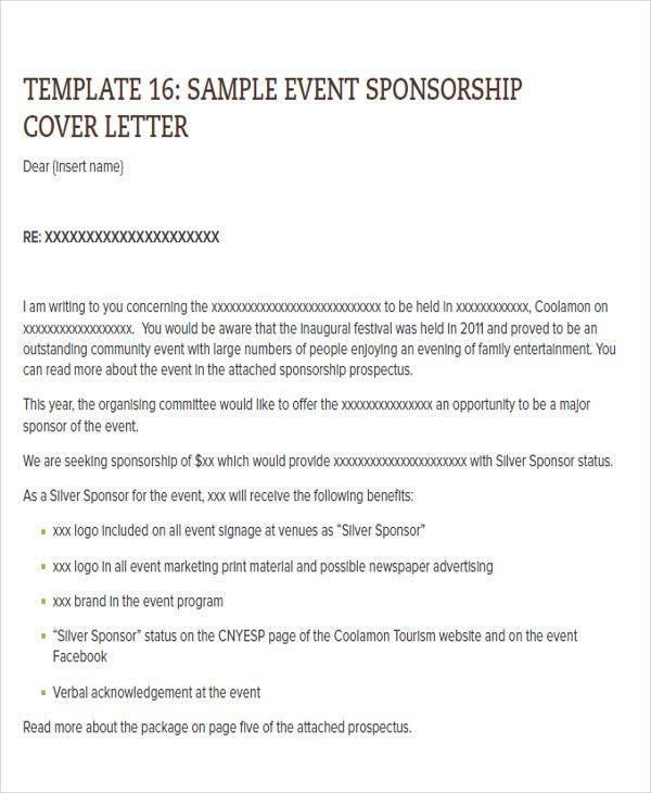 proposal letter for sponsorship sample for event node2004-resume - proposal letter for sponsorship sample for event