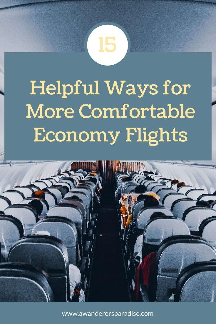 15 Tips for Long Flights in Economy