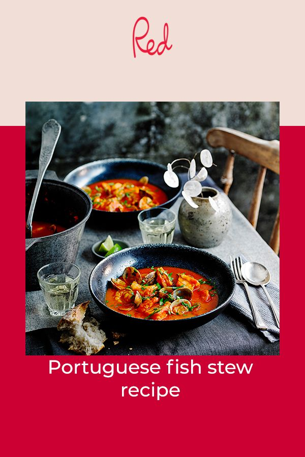 Portuguese fish stew recipe