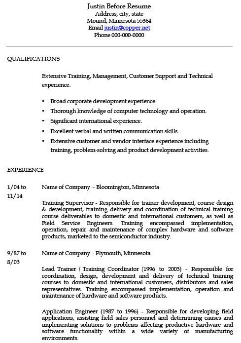 Corporate Trainer Resume Examples - Examples of Resumes - corporate resume examples