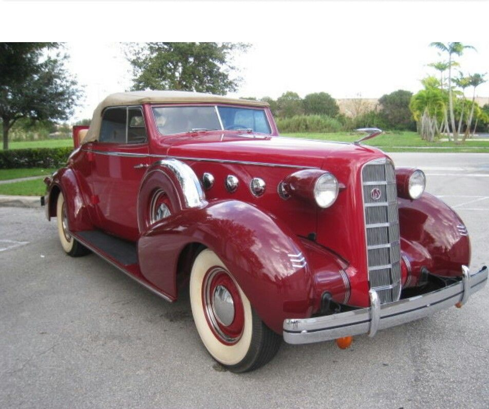 1935-Lasalle convertible coupe. | Vintage Cars - Out of Production ...
