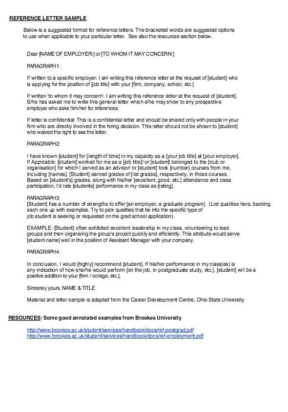 Recommendation Letter For Caregiver Caregiver Reference Letter - letter of reference sample