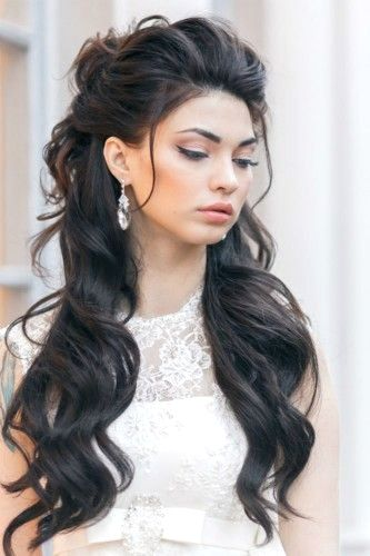 Bridesmaids Hairstyles Waterfall Ideas