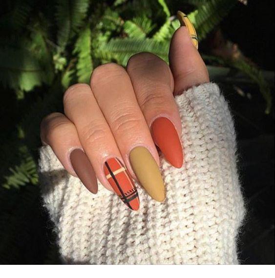 Cute colors, medium nails