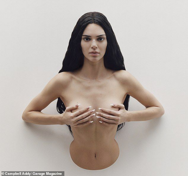 Is this Kendall Jenner's weirdest photo shoot yet?