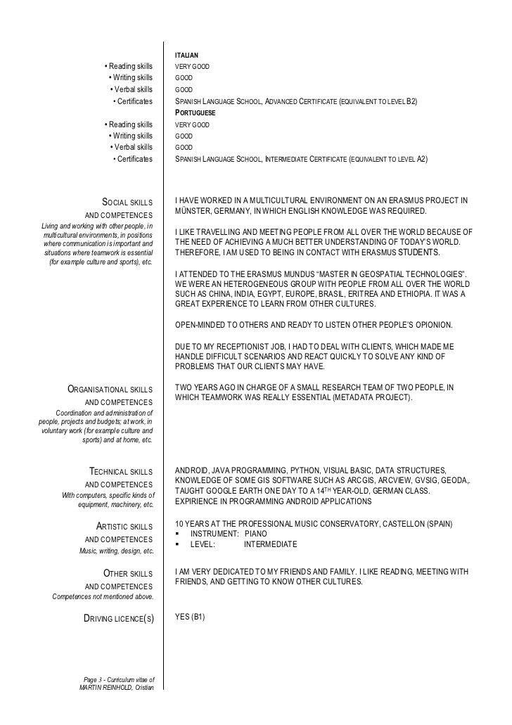 Resume Language Skills Example Resume Language Skills Example